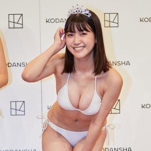 和泉芳怜 ミスマガジン2021グランプリのおっぱいが一番だと思うエロ画像