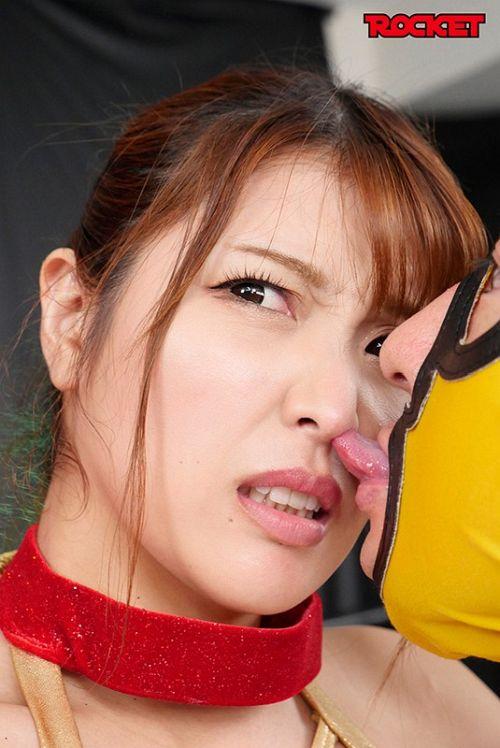巨乳女子プロレスラー朱音の時間よ止まれ! 03