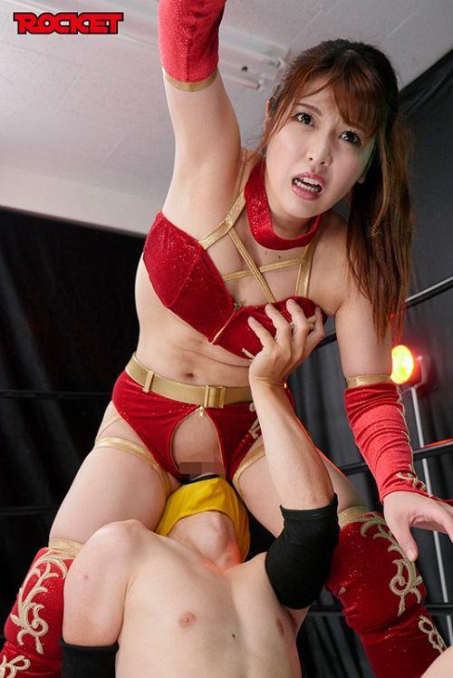巨乳女子プロレスラー朱音の時間よ止まれ! 09