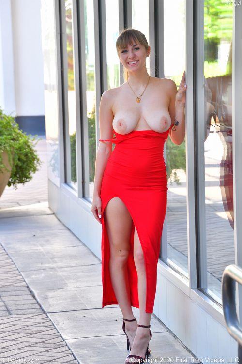 Angel-III - THE FANCY RED DRESS