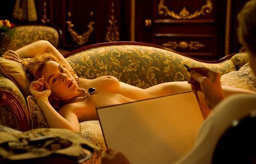 ケイト・ウィンスレット、「タイタニック」でお●ぱい丸出し全裸ヌード & 濡れ場エ□すぎ!!