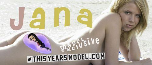 Jana Davis - JANA BLONDES THE BEACH