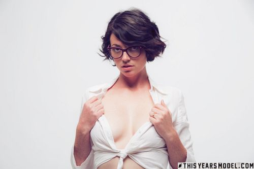 Terry Haynes - TERRY MODELS EYE GLASSES FOR A CLIENT... THEN GETS NAKED FOR GIGGLES! 01