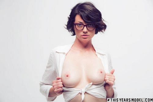Terry Haynes - TERRY MODELS EYE GLASSES FOR A CLIENT... THEN GETS NAKED FOR GIGGLES! 02