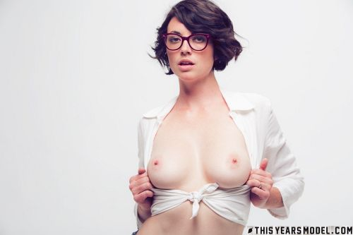 Terry Haynes - TERRY MODELS EYE GLASSES FOR A CLIENT... THEN GETS NAKED FOR GIGGLES! 03