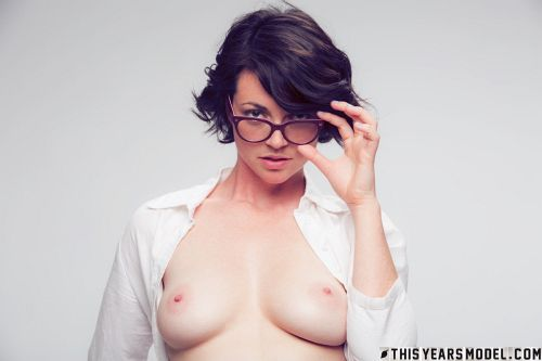 Terry Haynes - TERRY MODELS EYE GLASSES FOR A CLIENT... THEN GETS NAKED FOR GIGGLES! 05