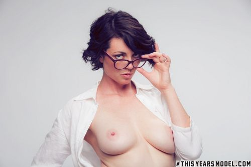 Terry Haynes - TERRY MODELS EYE GLASSES FOR A CLIENT... THEN GETS NAKED FOR GIGGLES! 06