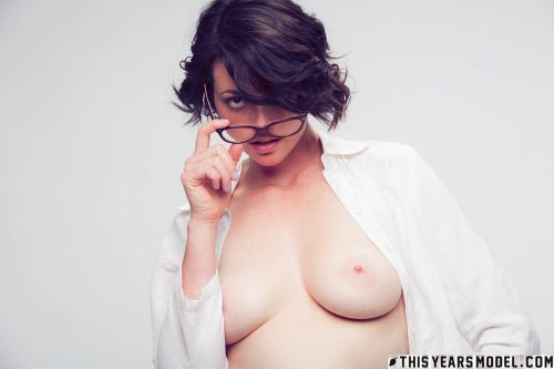 Terry Haynes - TERRY MODELS EYE GLASSES FOR A CLIENT... THEN GETS NAKED FOR GIGGLES! 07