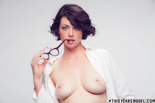 Terry Haynes - TERRY MODELS EYE GLASSES FOR A CLIENT... THEN GETS NAKED FOR GIGGLES! 09