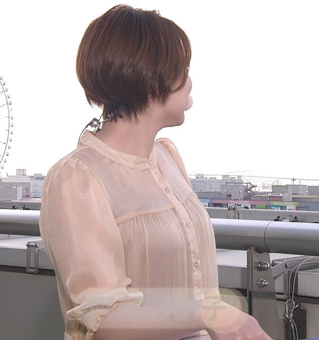阿部華也子 インナーが透けるキャプ・エロ画像2