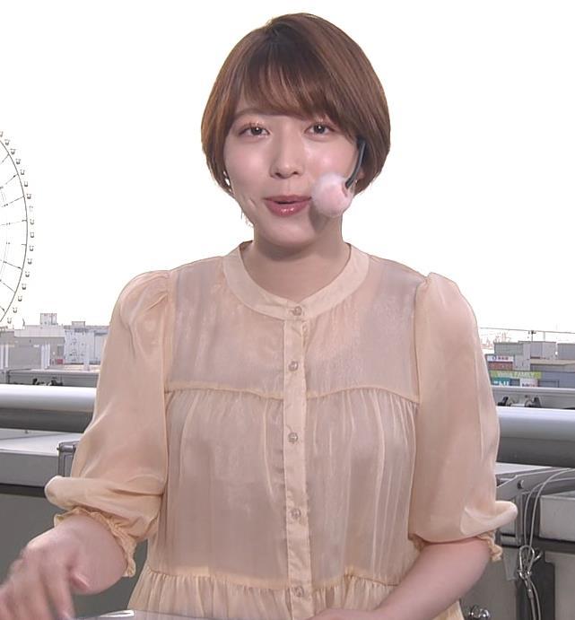 阿部華也子 インナーが透けるキャプ・エロ画像3