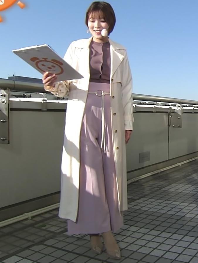阿部華也子 胸がパツパツの衣装キャプ・エロ画像4