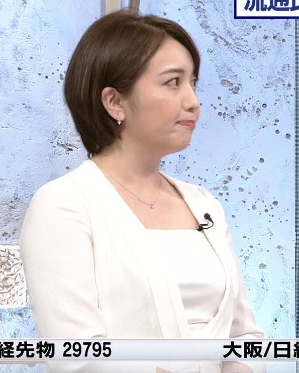 相内優香アナ ムチムチなスーツ姿キャプ・エロ画像3
