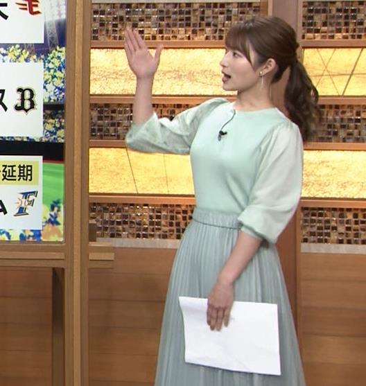 安藤萌々アナ 今日の熱盛乳キャプ・エロ画像2