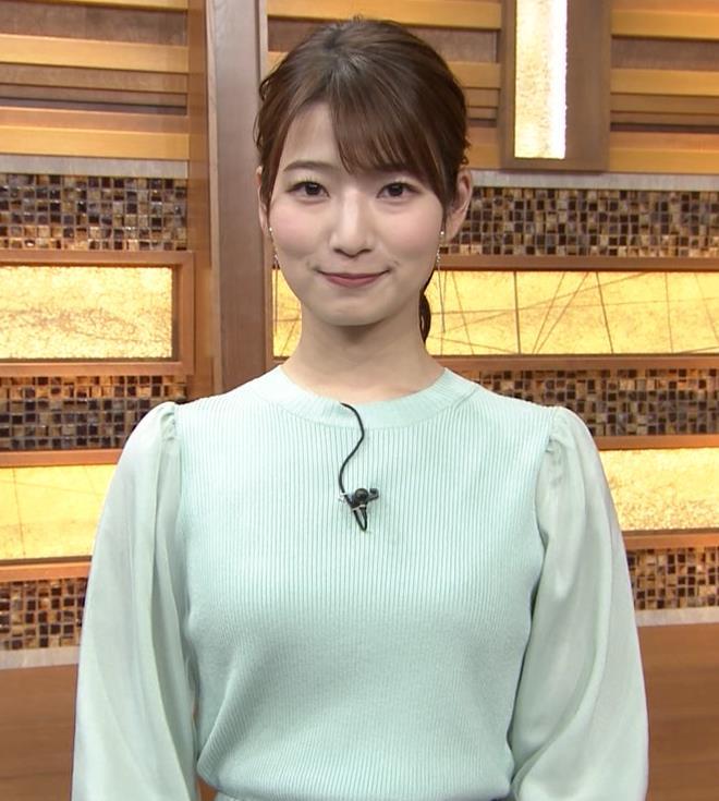 安藤萌々アナ 今日の熱盛乳キャプ・エロ画像3