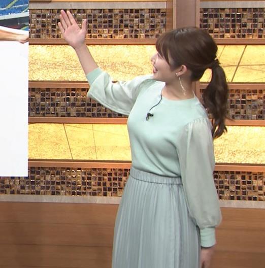 安藤萌々アナ 今日の熱盛乳キャプ・エロ画像8