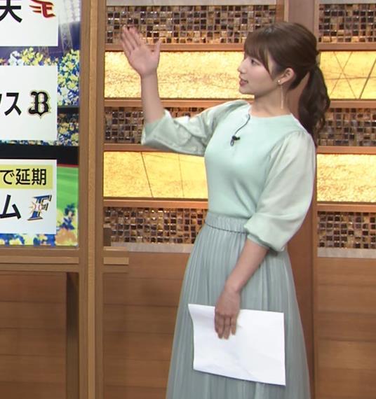 安藤萌々アナ 今日の熱盛乳キャプ・エロ画像10