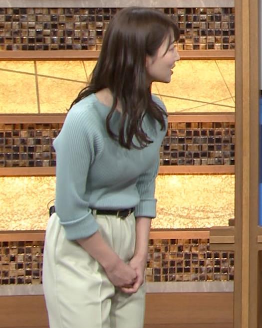 安藤萌々アナ ニットおっぱいキャプ・エロ画像4