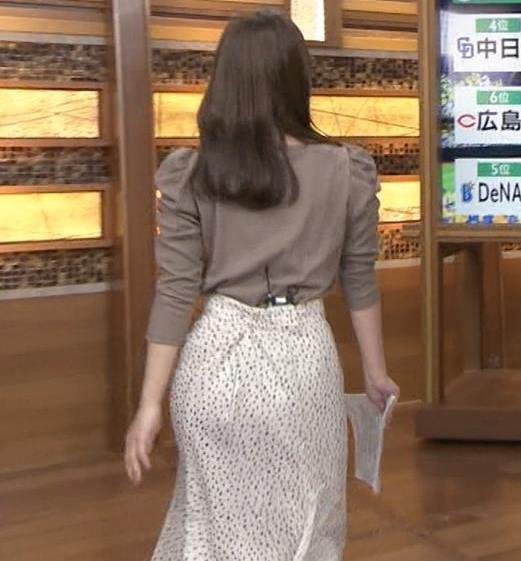 安藤萌々アナ お尻の形がかなり良さそうキャプ・エロ画像4