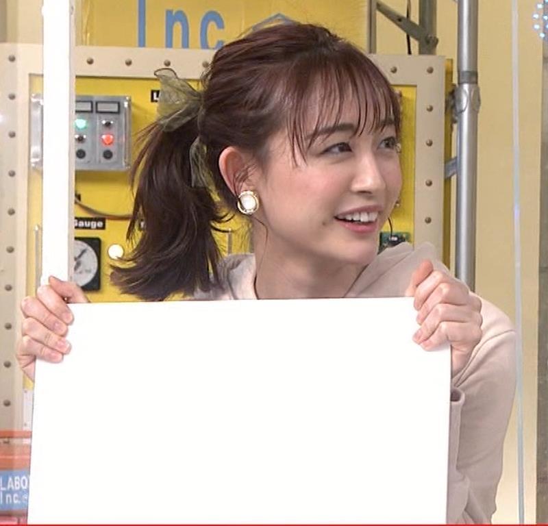 新井絵理奈 かわいいポニーテール&ちょっと胸が目立つキャプ・エロ画像13