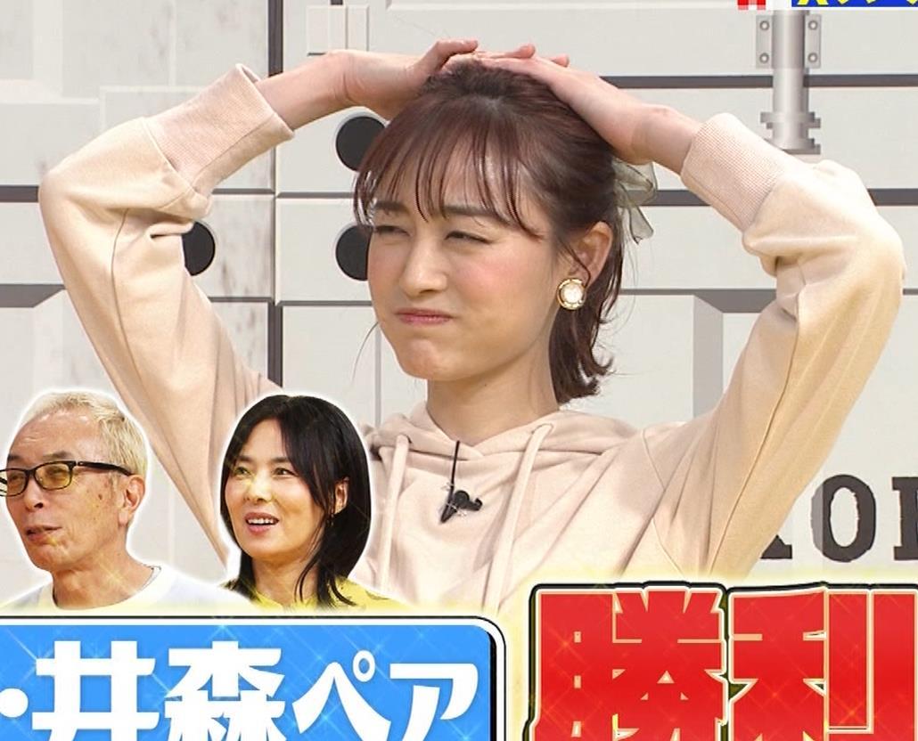 新井絵理奈 かわいいポニーテール&ちょっと胸が目立つキャプ・エロ画像6