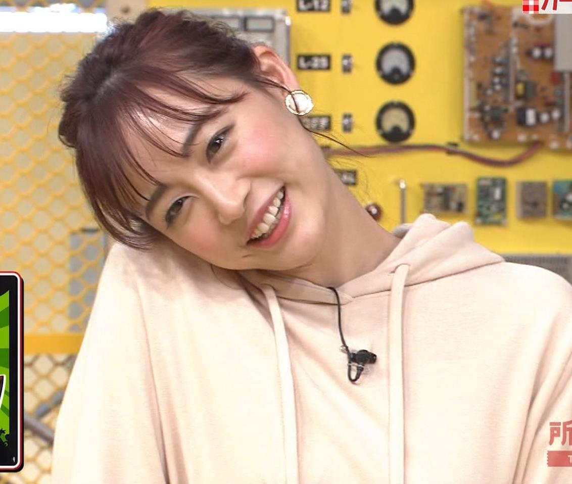 新井絵理奈 かわいいポニーテール&ちょっと胸が目立つキャプ・エロ画像7