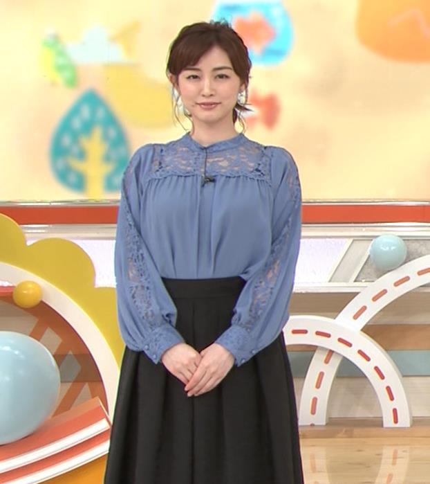 新井恵理那 インナーが透けまくるキャプ・エロ画像