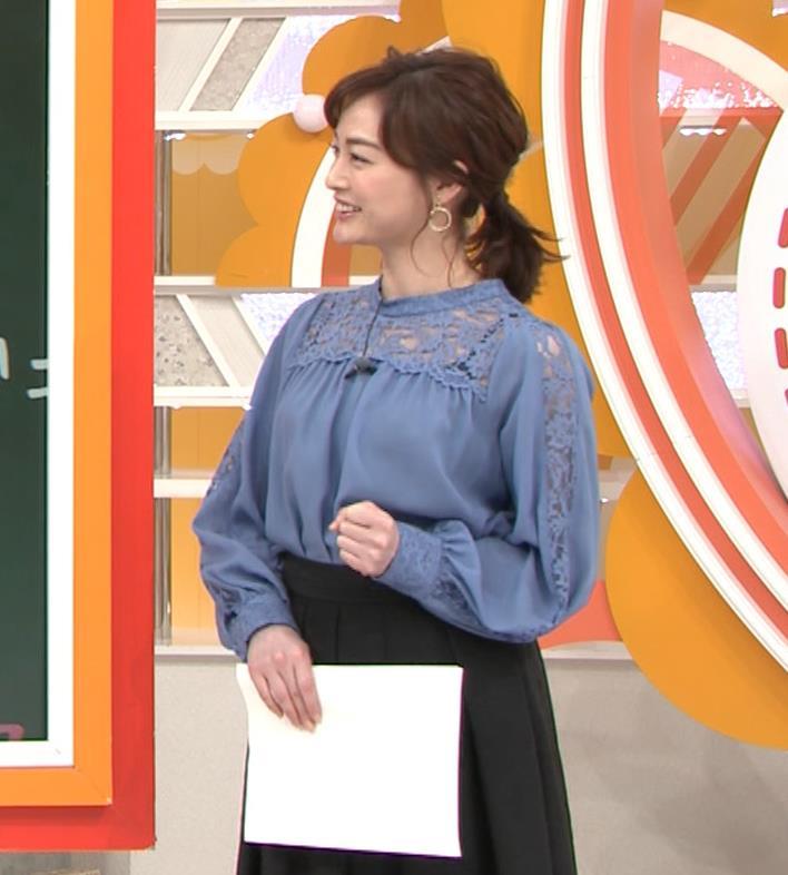 新井恵理那 インナーが透けまくるキャプ・エロ画像3