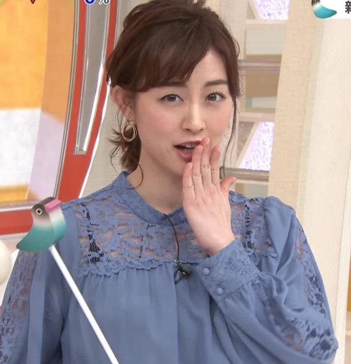 新井恵理那 インナーが透けまくるキャプ・エロ画像6