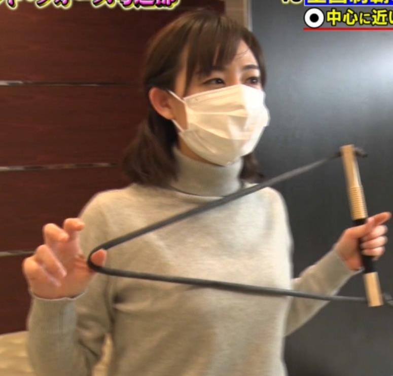 新井恵理那 弓道の袴姿キャプ・エロ画像