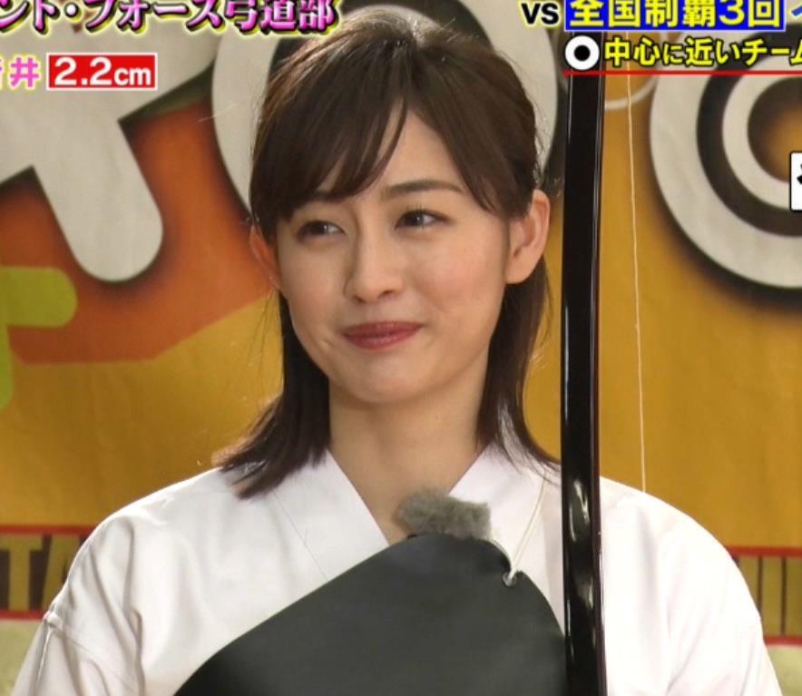 新井恵理那 弓道の袴姿キャプ・エロ画像5