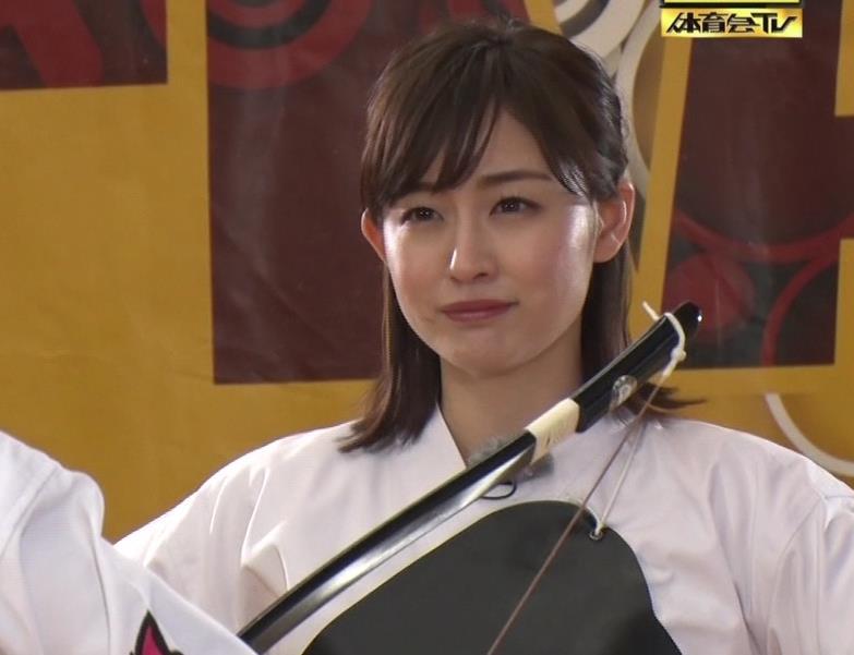 新井恵理那 弓道の袴姿キャプ・エロ画像9