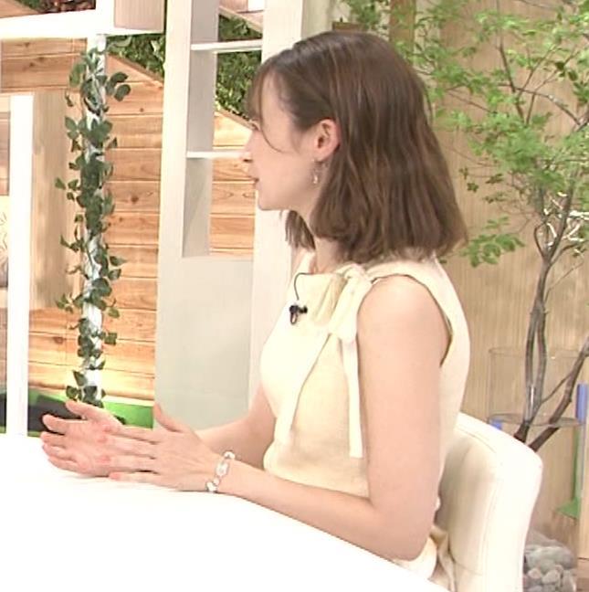 藤井サチ ノースリーブ姿の横乳キャプ・エロ画像2