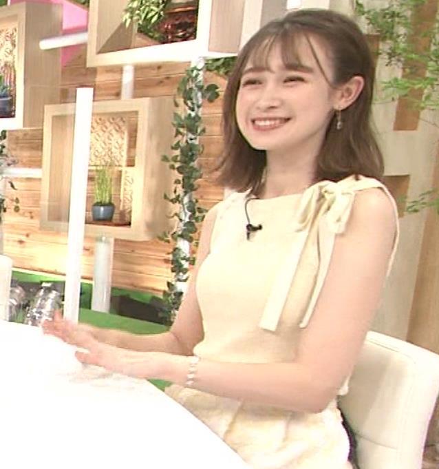 藤井サチ ノースリーブ姿の横乳キャプ・エロ画像14