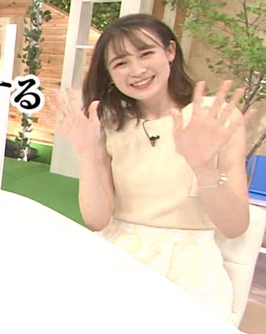 藤井サチ ノースリーブ姿の横乳キャプ・エロ画像15