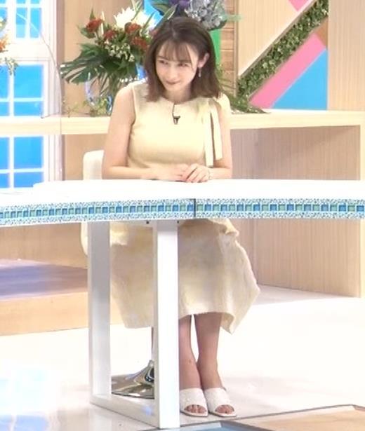 藤井サチ ノースリーブ姿の横乳キャプ・エロ画像3