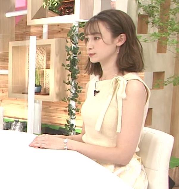 藤井サチ ノースリーブ姿の横乳キャプ・エロ画像4