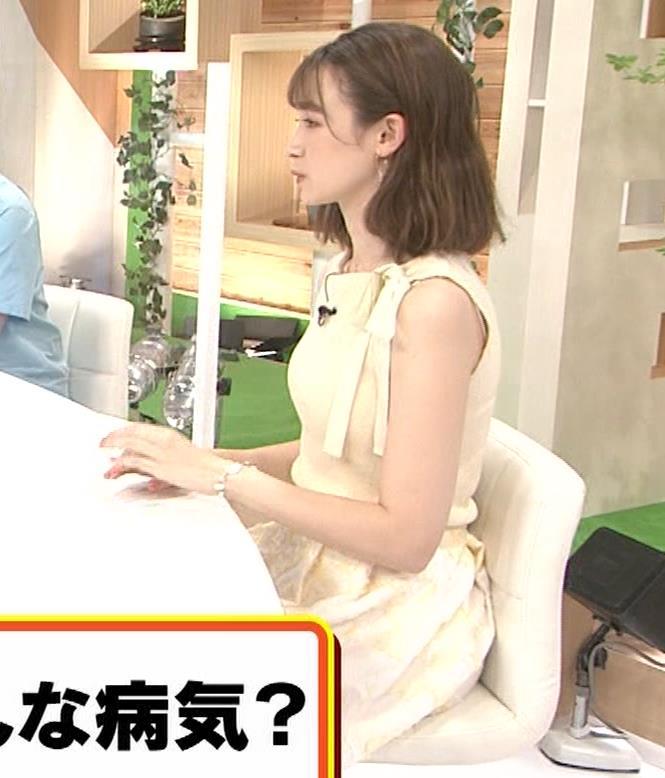 藤井サチ ノースリーブ姿の横乳キャプ・エロ画像5