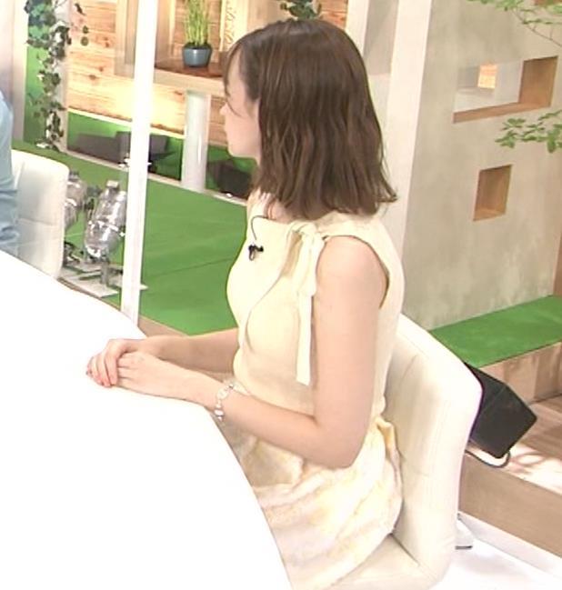 藤井サチ ノースリーブ姿の横乳キャプ・エロ画像8