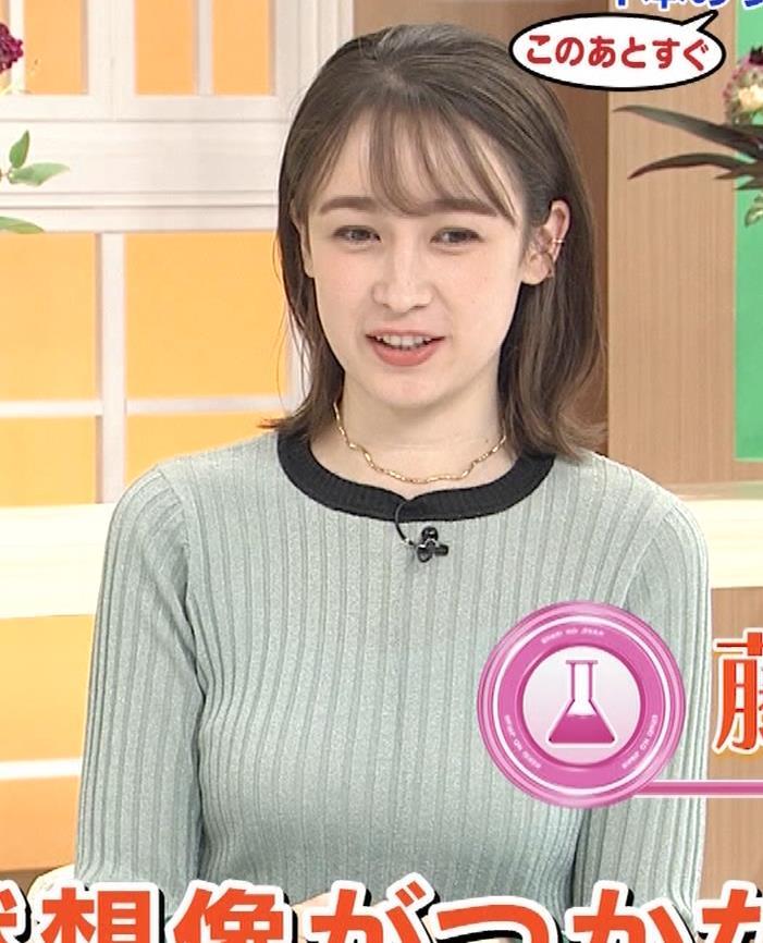 藤井サチ エッチなニットおっぱいキャプ・エロ画像2