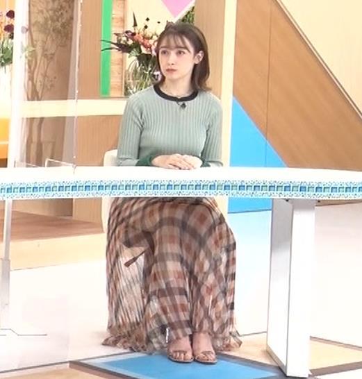 藤井サチ エッチなニットおっぱいキャプ・エロ画像13