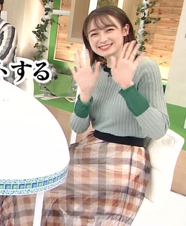藤井サチ エッチなニットおっぱいキャプ・エロ画像15