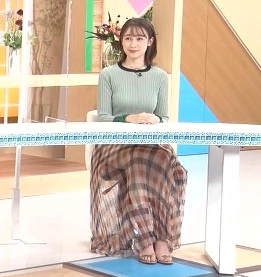 藤井サチ エッチなニットおっぱいキャプ・エロ画像3