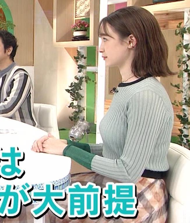 藤井サチ エッチなニットおっぱいキャプ・エロ画像4