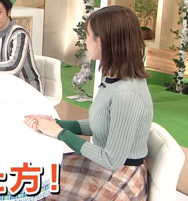 藤井サチ エッチなニットおっぱいキャプ・エロ画像5