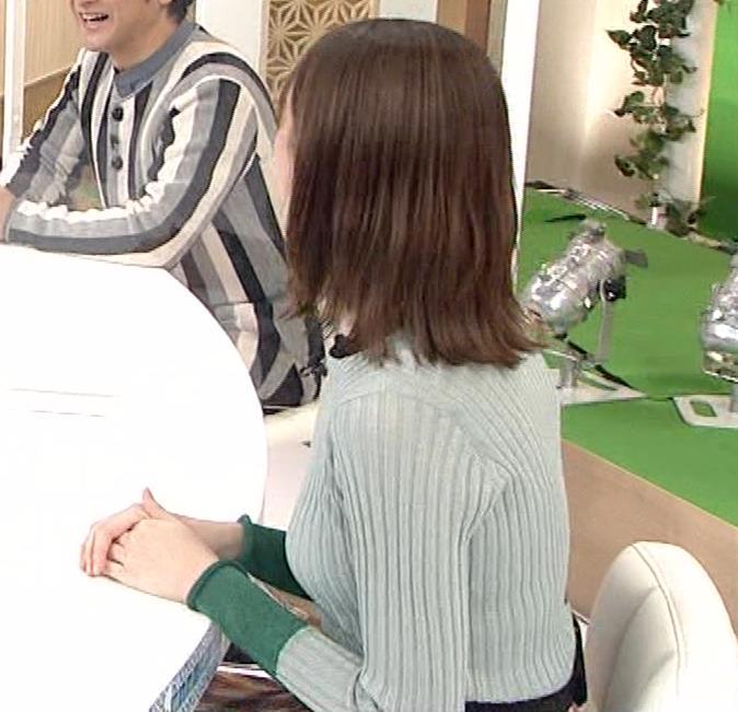 藤井サチ エッチなニットおっぱいキャプ・エロ画像7