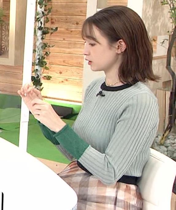 藤井サチ エッチなニットおっぱいキャプ・エロ画像8