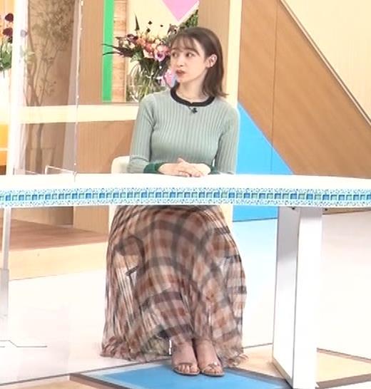藤井サチ エッチなニットおっぱいキャプ・エロ画像9