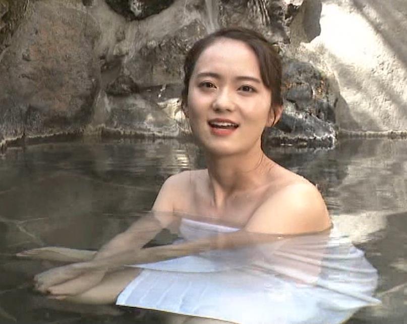 鉢嶺杏奈 入浴シーン(世界ふしぎ発見!エロ回)キャプ・エロ画像7