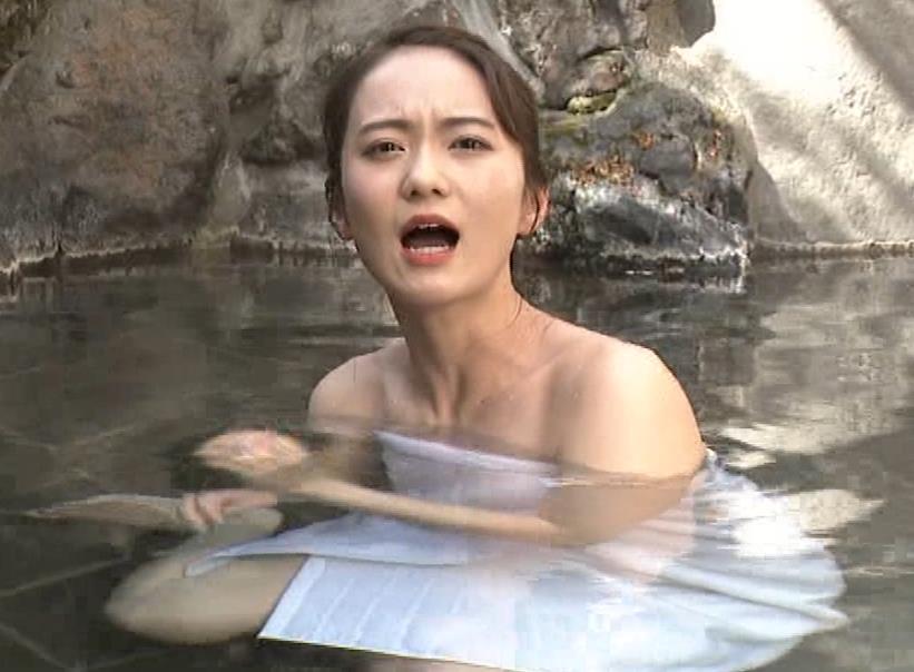 鉢嶺杏奈 入浴シーン(世界ふしぎ発見!エロ回)キャプ・エロ画像8